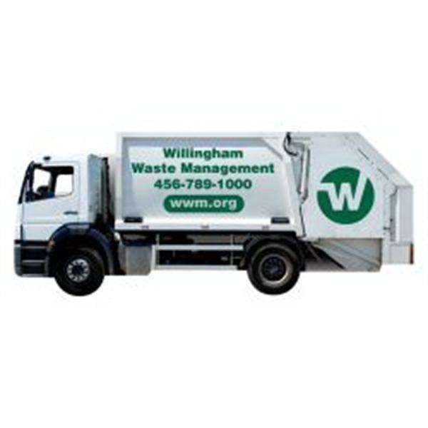 Trash Truck Magnet