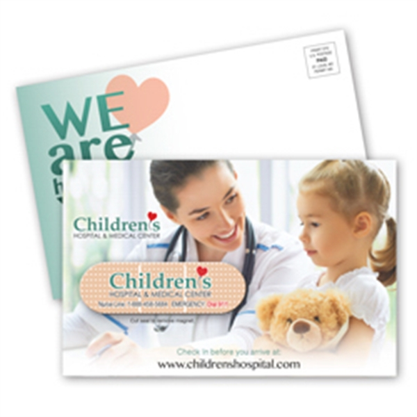 SuperSeal Direct Mail Postcard and Magnet