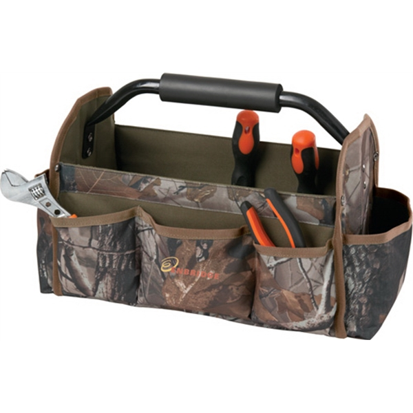 """15"""" Collapsible Camo Tool Bag"""