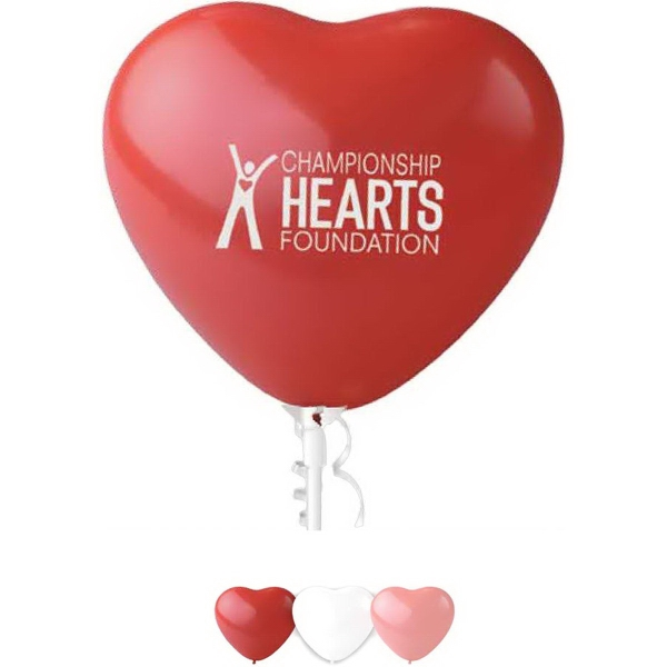 "11"" Heart Latex Balloon"