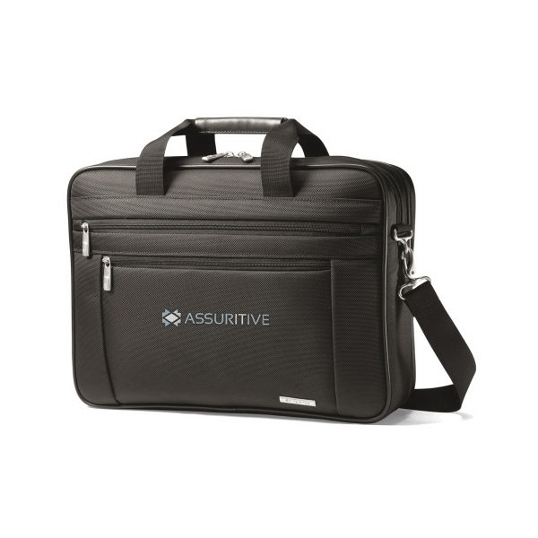 Samsonite Business Perfect Fit Two Gusset Computer Portfolio