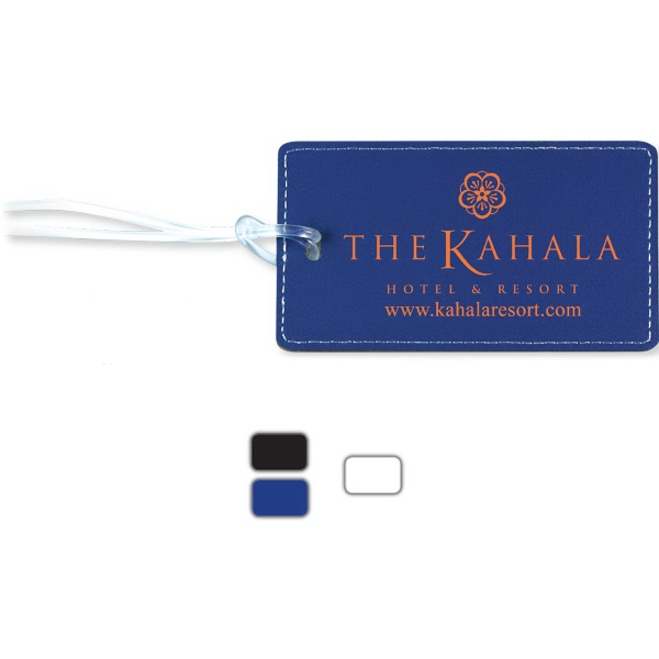 Lightning Leatherette Luggage Bag Tag