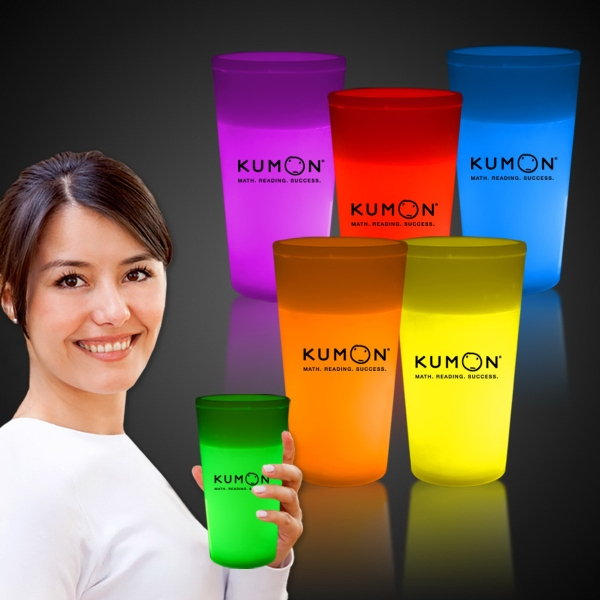 16 oz. Light Up Glow Cup