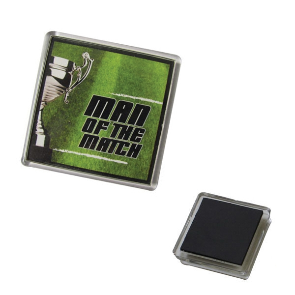 Acrylic Square Fridge Magnet