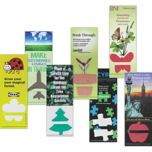 Herb Plant-A-Shape Bookmark