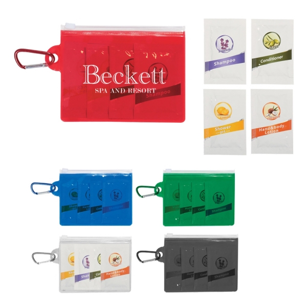 Travel toiletry kit bathroom accessory kits for Bathroom accessories kit