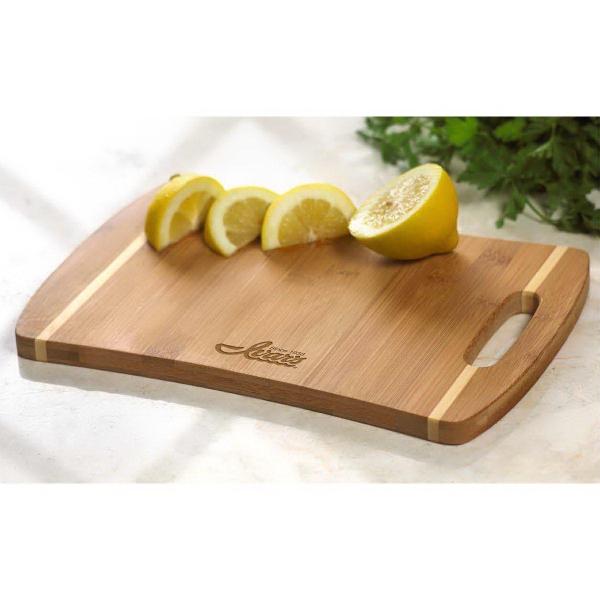 Stripe Handle Cutting Board