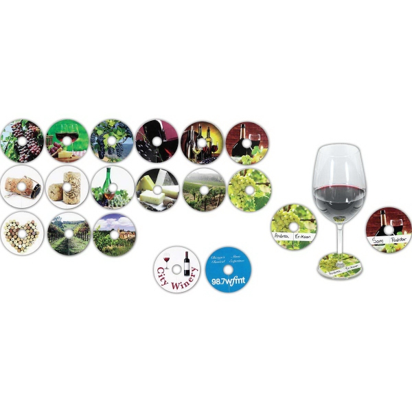 Compostable Wine Glass Tag