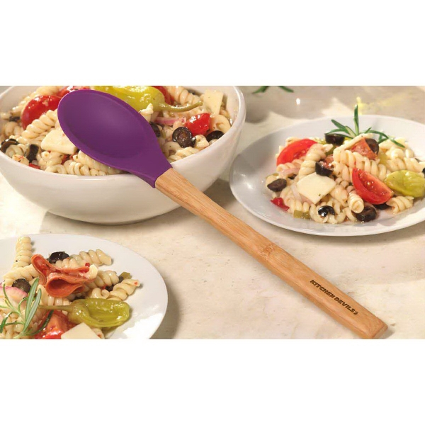 Bamboo Silicone Spoon