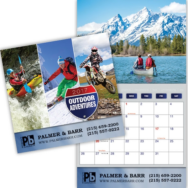 Kingswood Collection Great Outdoors Wall Calendar