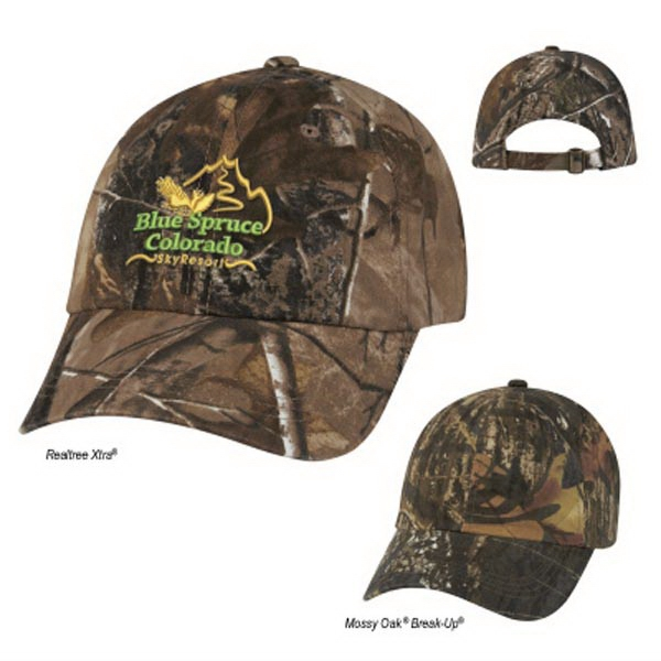 Realtree(TM) & Mossy Oak(R) Hunter's Hideaway Camouflage Cap