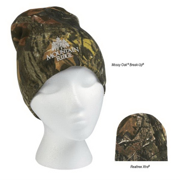 Realtree (TM) and Mossy Oak (R) Camouflage Beanie