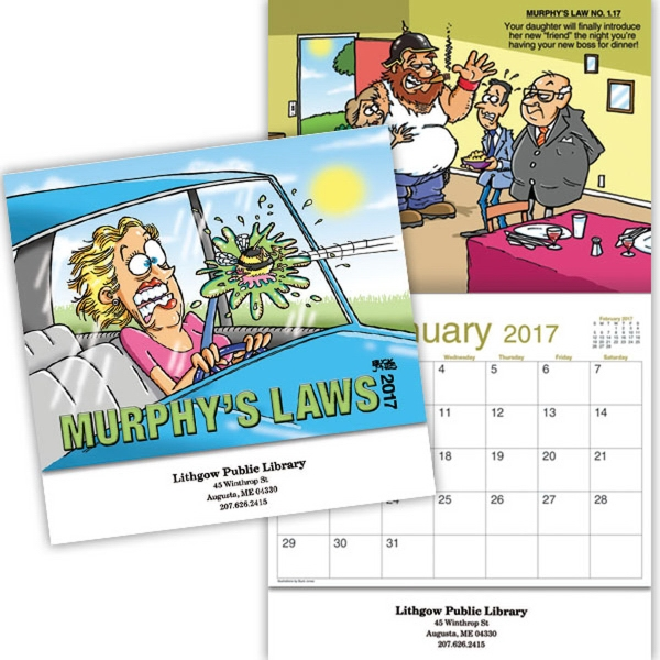 Kingswood Collection Murphy's Laws Wall Calendar
