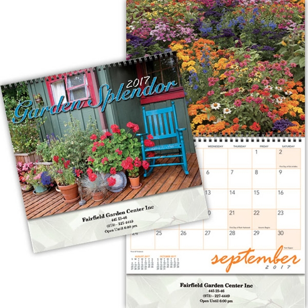 Kingswood Collection Garden Splendor Wall Calendar
