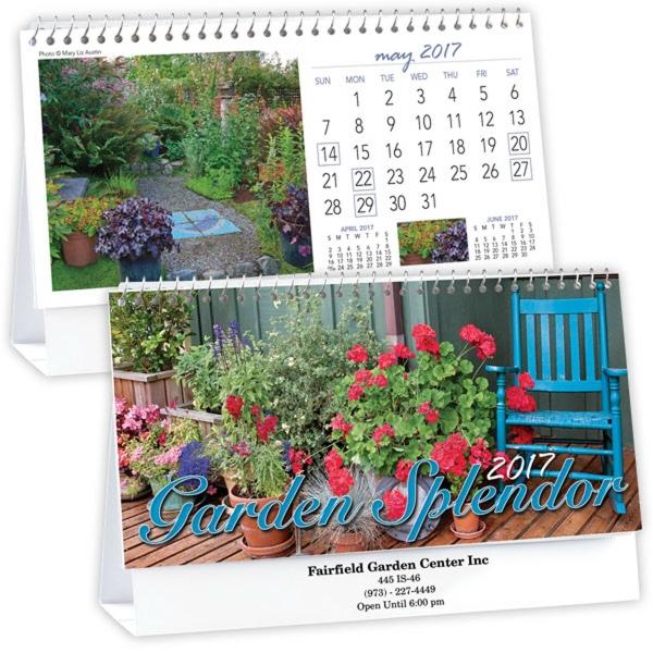 Kingswood Collection Garden Splendor Desk Calendar