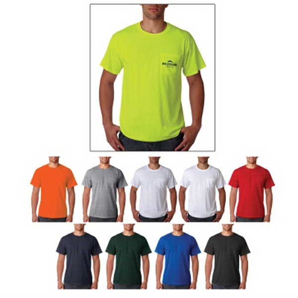 Jerzees Adult Heavyweight Blend (TM) Pocket T-Shirt