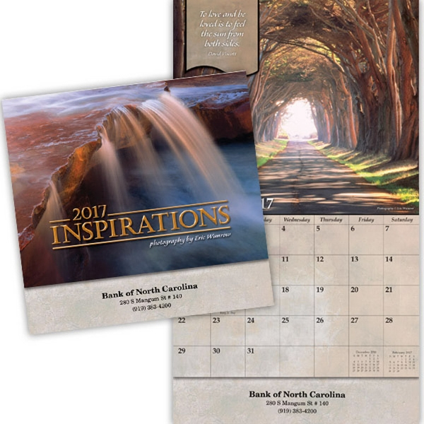 Kingswood Collection Inspirations Wall Calendar