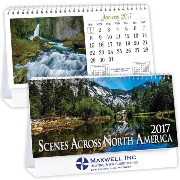 Kingswood Collection Standard Desk Calendar