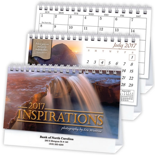Kingswood Collection Inspirations Deluxe Desk Calendar
