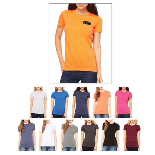 Bella + Canvas Ladies' The Favorite Tee