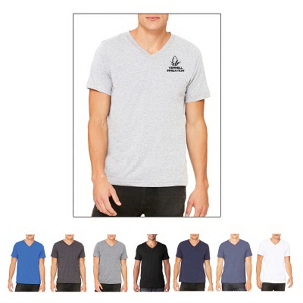 Bella + Canvas Unisex Jersey Short-Sleeve V-Neck Tee