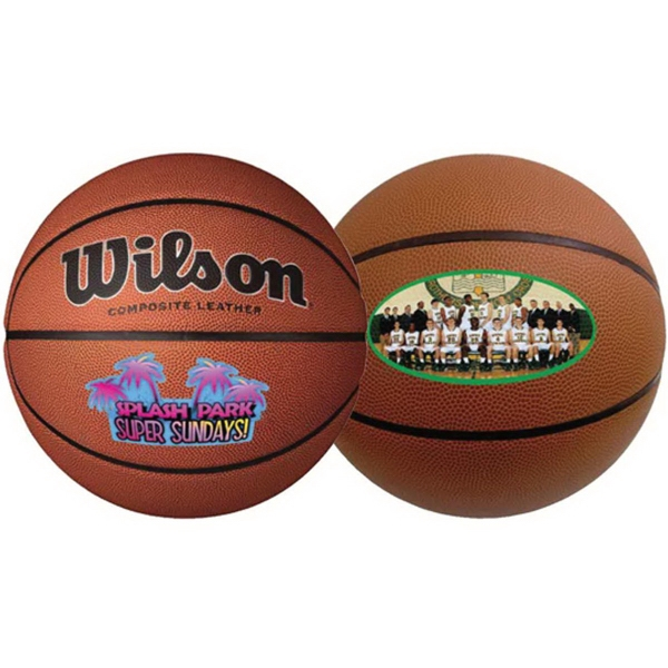 Wilson (R) Composite Leather Basketball