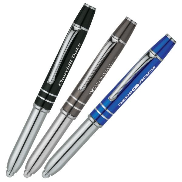 Captive Precision Stylus / Pen / LED Light