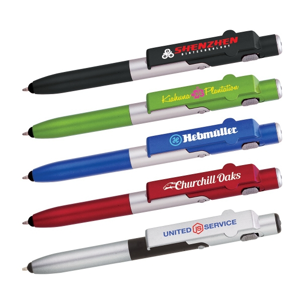 Madison 4-in-1 Ballpoint Pen / LED / Phone Stand / Stylus