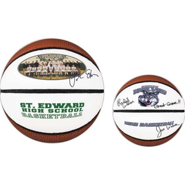 Mini Signature Basketball (Full color process)