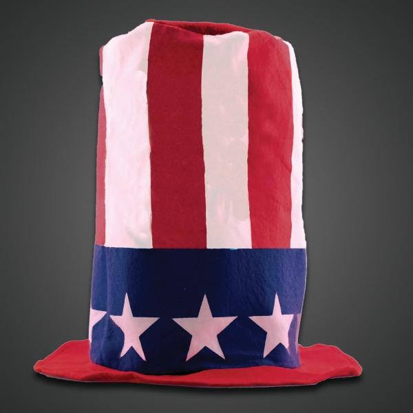 Patriotic Stove Top Novelty Hat