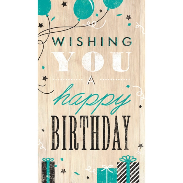Wishing A Happy Birthday Card