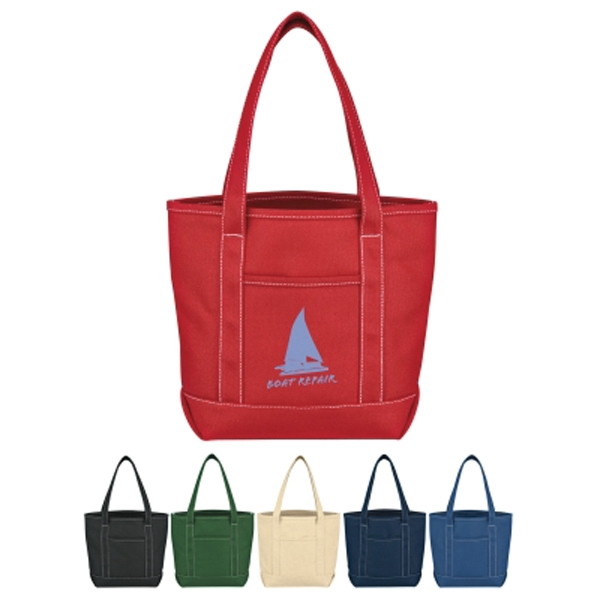 Small Cotton Canvas Yacht Tote