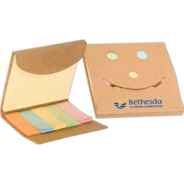 Happy Face Sticky Note Pack