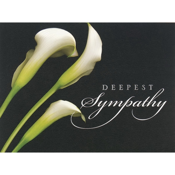 Sympathy Floral Greeting Card