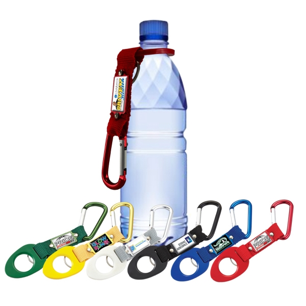 Custom Vibraprint Carabiner Bottle Holder Keytag
