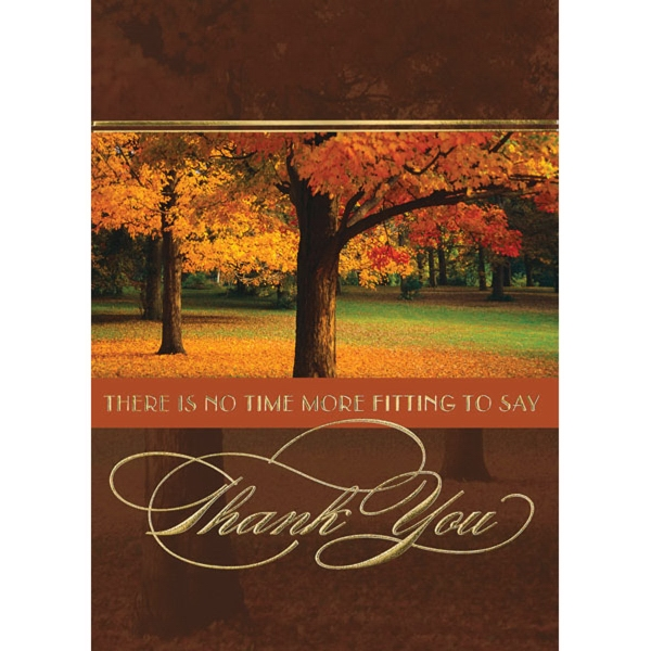Time To Say Thank You Greeting Card