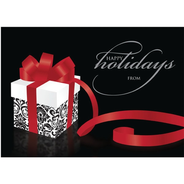 Personalized Holiday Gift Greeting Card