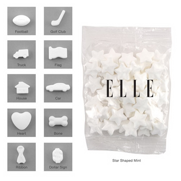 Bountiful Bag Promo Pack with Shaped Mini Mints - Bountiful Bag Promo Pack with Shaped Mini Mints