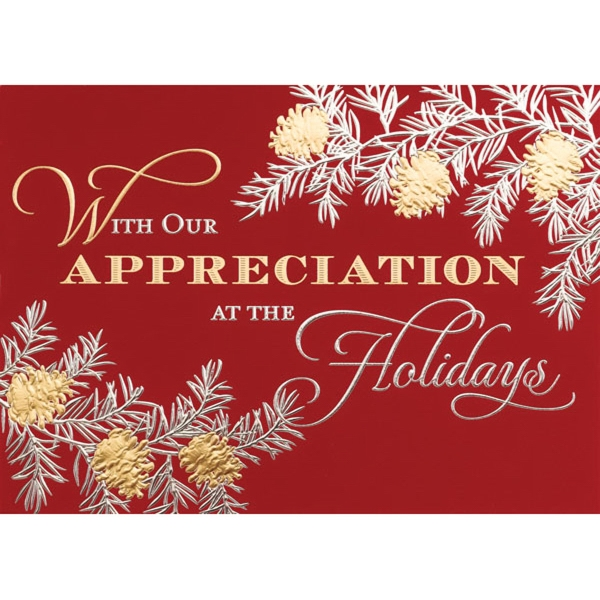 Holiday Appreciation Greeting Card