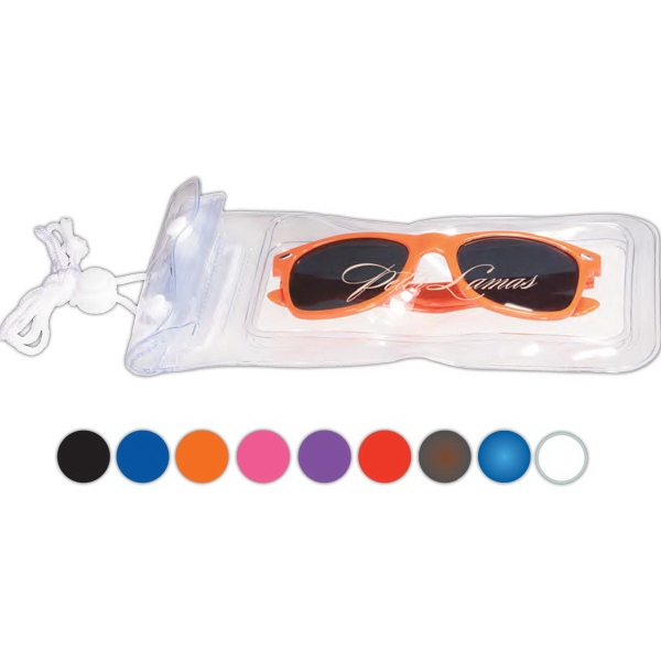 Fashion Sunglasses in a Waterproof Pouch