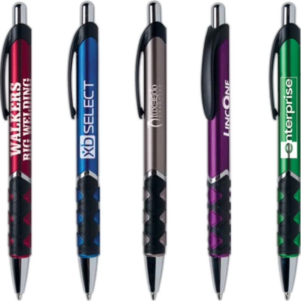 Motogrip® Metallic Pen