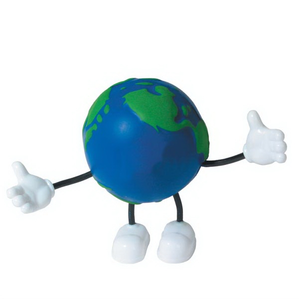 Squeezies (R) Earth Bendy Stress Reliever