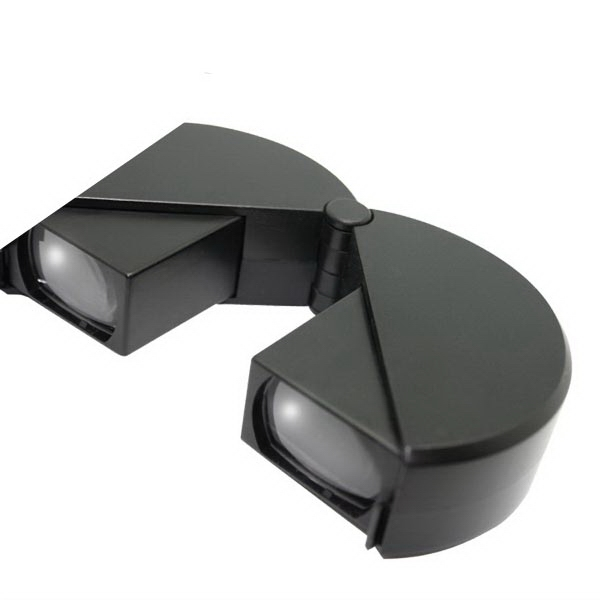 Folding Hockey Puck Binoculars