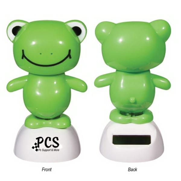Solar Powered Dancing Frog