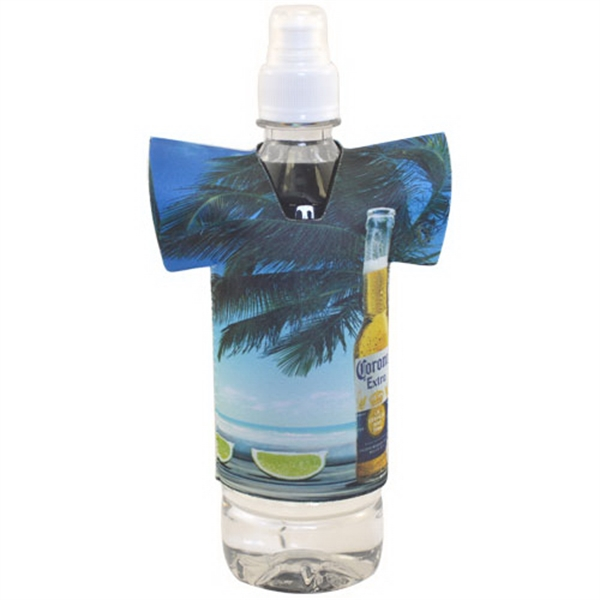 Full Color Collapsible Shirt Bottle Cooler