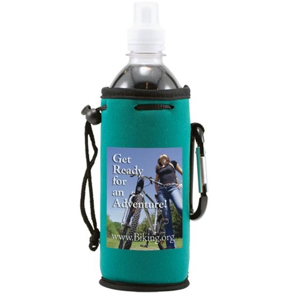 Neoprene Single Bottle Cooler- Full color