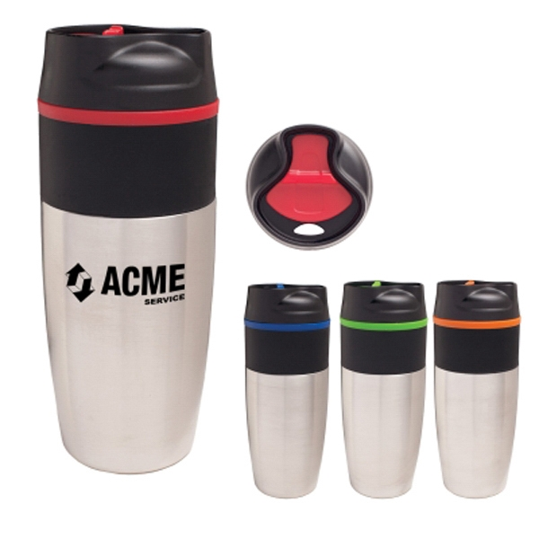 16 oz. Stainless Steel Metro Tumbler