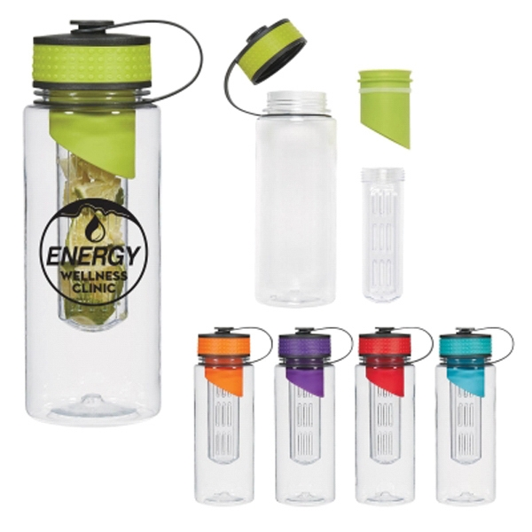 28 oz. Tritan (TM) Water Bottle with Infuser