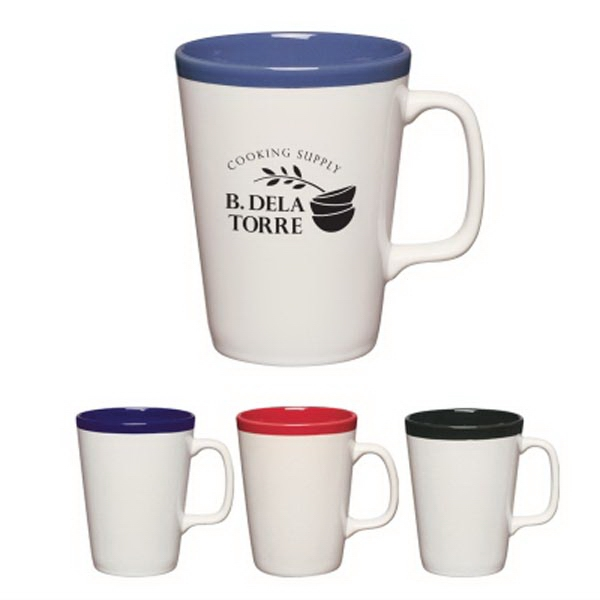 14 oz. Two-Tone Java Mug
