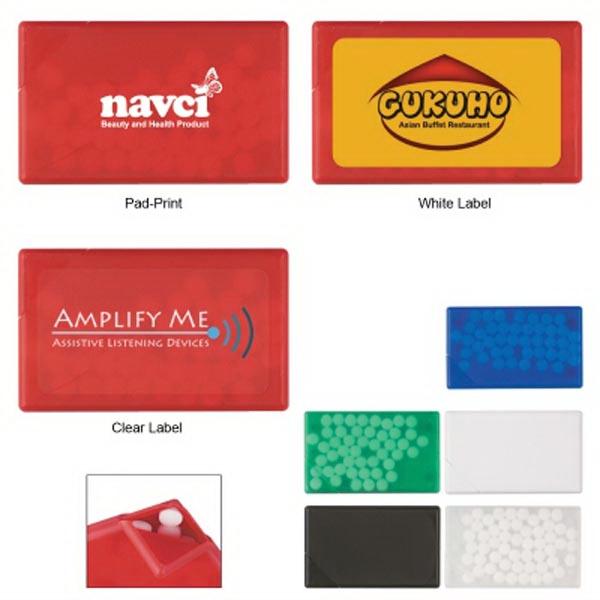 Credit Card Shape Peppermints